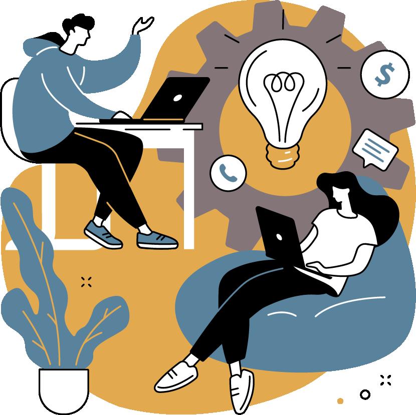Collaboration on design, branding, and web development.